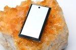 高純度 テラヘルツ鉱石 レクタングル(中) 36x20mm ペンダントトップ_R5505-8 天然石 卸売問屋 パワーストーン卸通販の福縁閣 ブレスレット 連ビーズ アクセサリー