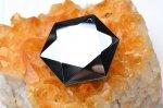 高純度 テラヘルツ鉱石 (中)六芒星(ダビデの星・ヘキサグラム) 26mm ペンダントトップ_R5505-12 天然石 卸売問屋 パワーストーン卸通販の福縁閣 ブレスレット 連ビーズ アクセサリー