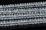 水晶ボタンカット 4x8mm 1連(38cm)_R5519-8 天然石 卸売問屋 パワーストーン卸通販の福縁閣 ブレスレット 連ビーズ アクセサリー