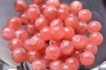 AA インカローズ 6mm 高品質1粒売り_T444-6 天然石 卸売問屋 パワーストーン卸通販の福縁閣 ブレスレット 連ビーズ アクセサリー