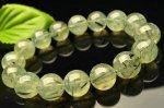 15%OFFセール中!【1点物】ブラックトルマリンインプレナイト 13mm ブレスレット_F3292 天然石 卸売問屋 パワーストーン卸通販の福縁閣 ブレスレット 連ビーズ アクセサリー