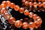 希少AAA セリサイト (絹雲母) 12mm ブレスレット_B510-12 天然石 卸売問屋 パワーストーン卸通販の福縁閣 ブレスレット 連ビーズ アクセサリー