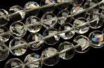 ヒマラヤ水晶 アイリスクォーツ 14mm 1連(約38cm)_RG79-14