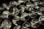 ヒマラヤ水晶 アイリスクォーツ 16mm 1連(約38cm)_RG79-16 天然石 卸売問屋 パワーストーン卸通販の福縁閣 ブレスレット 連ビーズ アクセサリー