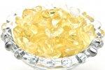 レモンクォーツ 100g 浄化用 インテリア用 さざれ石_R5558-16