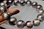 【1点物】SA級 極上 プラチナルチルクォーツ 13mm ブレスレット_G1325 天然石 卸売問屋 パワーストーン卸通販の福縁閣 ブレスレット 連ビーズ アクセサリー