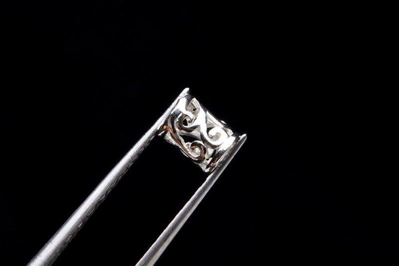 Silver925 ロンデル 3粒セット 5.5x4mm ハンドメイドパーツ_KZ121 天然石 卸売問屋 パワーストーン卸通販の福縁閣 ブレスレット 連ビーズ