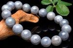 【1点物】南アフリカ産 サファイア 11.5mm ブレスレット_M3436 天然石 卸売問屋 パワーストーン卸通販の福縁閣 ブレスレット 連ビーズ アクセサリー