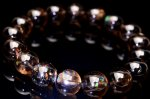希少AAA レインボースモーキークォーツ 10mm ブレスレット_BG1045-10 天然石 卸売問屋 パワーストーン卸通販の福縁閣 ブレスレット 連ビーズ アクセサリー