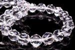 AAA スターカット水晶 6mm ブレスレット_B795-6