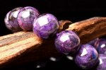 【1点物】高発色AAA スギライト 12mm ブレスレット_H1040