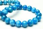 ネオンブルーアパタイト 12mm ブレスレット_B861-12