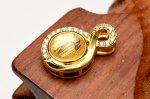 ギベオン ゴールド(ゴールド土台) 7.5mm バチカン ペンダントトップ_PR3099-4