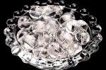 アマビエ素彫 水晶 12mm 3粒セット ビーズ_T604-12