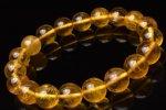 【1点物】ゴールドフローライト 10.5mm ブレスレット_H5602