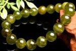 【1点物】ウグイスカラー グリーントルマリン 10mm ブレスレット_M6698