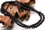黒壇 6mm ウッドビーズ ネックレス 数珠_N29-1