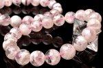 粉雪 ホワイトセリサイトインクォーツ 10mm ブレスレット_BG1897-10