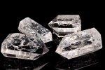 クラック水晶 ポイント 80-110g 浄化用 インテリア用 原石_CR1429-6