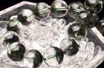 【15%OFF!】【1点物】天然のテラリウム! グリーンガーデンクォーツ 10mm ブレスレット_I2262