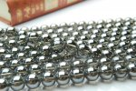 シルバーオーラ水晶 12mm  1連(約38cm)_R105 天然石 卸売問屋 パワーストーン卸通販の福縁閣 ブレスレット 連ビーズ アクセサリー