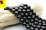 黒水晶(モリオン)AA 10mm 1連(約38cm)_R152 天然石 卸売問屋 パワーストーン卸通販の福縁閣 ブレスレット 連ビーズ アクセサリー