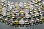 五行水晶(5種の水晶)A 12mm 1連(約38cm)[R156] 天然石 卸売問屋 パワーストーン卸通販の福縁閣 ブレスレット 連ビーズ アクセサリー