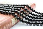 ブラックスピネル 8mm 1連(約38cm)_R137 天然石 卸売問屋 パワーストーン卸通販の福縁閣 ブレスレット 連ビーズ アクセサリー