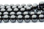 ブラックスピネル 10mm 1連(約38cm)[R138] 天然石 卸売問屋 パワーストーン卸通販の福縁閣 ブレスレット 連ビーズ アクセサリー