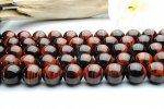 レッドタイガーアイ 12mm 1連(約38cm)_R225 天然石 卸売問屋 パワーストーン卸通販の福縁閣 ブレスレット 連ビーズ アクセサリー