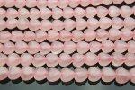 ローズクォーツハート 8mm 1連(約38cm)_R384 天然石 卸売問屋 パワーストーン卸通販の福縁閣 ブレスレット 連ビーズ アクセサリー