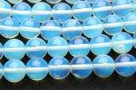 人工オパール 12mm 1連(約35cm)_R569 天然石 卸売問屋 パワーストーン卸通販の福縁閣 ブレスレット 連ビーズ アクセサリー