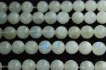 レインボームーンストーンA 8mm 1連(約38cm)_R658 天然石 卸売問屋 パワーストーン卸通販の福縁閣 ブレスレット 連ビーズ アクセサリー
