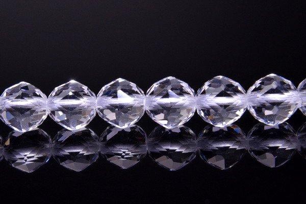 6mm 水晶スターカット AA 1連(約38cm)_R1280 天然石 卸売問屋 パワーストーン卸通販の福縁閣 ブレスレット 連ビーズ