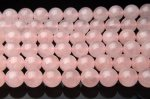 12mm ローズクォーツ 1連(約38cm)_R1365 天然石 卸売問屋 パワーストーン卸通販の福縁閣 ブレスレット 連ビーズ アクセサリー