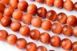 AAAサンセットタイガーアイ(オレンジタイガーアイ)6mm 1連(約38cm)_R1650-6 天然石 卸売問屋 パワーストーン卸通販の福縁閣 ブレスレット 連ビーズ アクセサリー