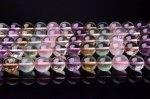 12mm 五種の水晶 1連(約38cm) _R1251-12 天然石 卸売問屋 パワーストーン卸通販の福縁閣 ブレスレット 連ビーズ アクセサリー