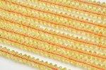 合成シトリンボタン 3x6mm 1連(約38cm)_R1779 天然石 卸売問屋 パワーストーン卸通販の福縁閣 ブレスレット 連ビーズ アクセサリー