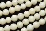 ホワイトコーラル(白珊瑚) ラウンド 4mm 1連(約38cm)_R1946-4