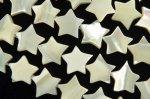 マザーオブパール スター 10mm 1連(約35cm)_R2130 天然石 卸売問屋 パワーストーン卸通販の福縁閣 ブレスレット 連ビーズ アクセサリー