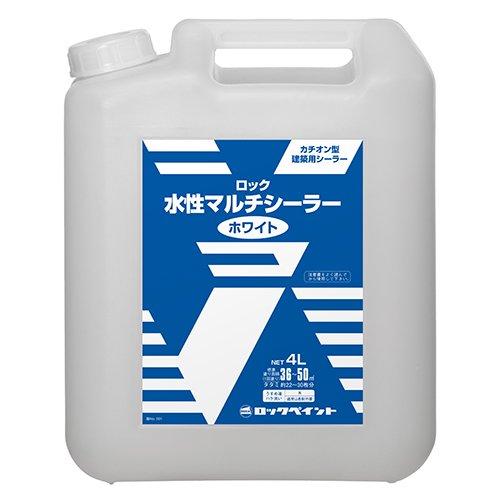 ロックペイント / H33-1160 ロック水性マルチシーラー ホワイト 4L