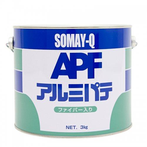 染めQテクノロジィ / アルミパテファイバー入り 3kgセット(主剤3kg+硬化剤60g)