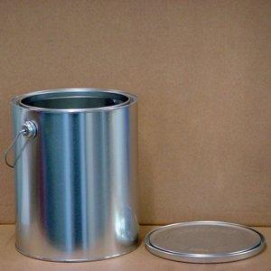 空缶 無地 丸G缶 手付 (ロックペイント 丸G(3.6kg)製品サイズ)