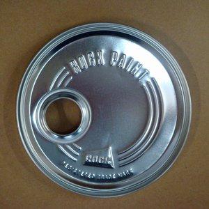 丸G缶用 口付きフタ (ロックペイント製品サイズ 丸G缶用)