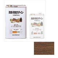 ロックペイント / 085-0008 ナフタデコール ブラウン 16L