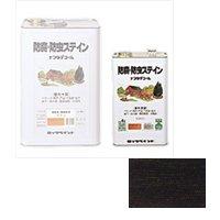 ロックペイント / H85-0012 ナフタデコール ブラック 4L