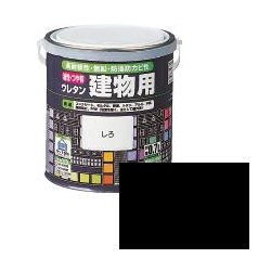 ロックペイント / H06-1611 油性・つや有ウレタン建物用 くろ 0.7L