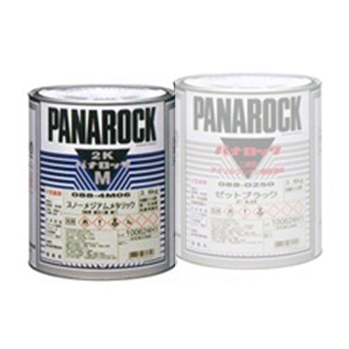 ロックペイント / 088-M030 パナロックマルス2K チンチングブラック 3.6kg