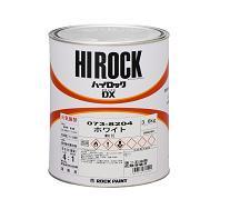ロックペイント / 073-8010 ハイロックDX ブライトレッド 3.6kg