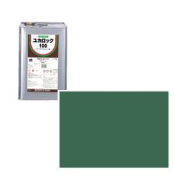 ロックペイント / 082-0220 ユカロック100番級 ディープグリーン 20kg